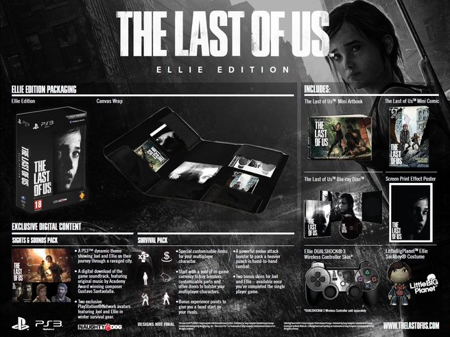 The Last Of Us Ellie Edition PlayStation 3