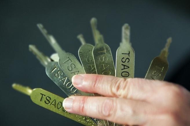 Geprinte tsa-sleutels