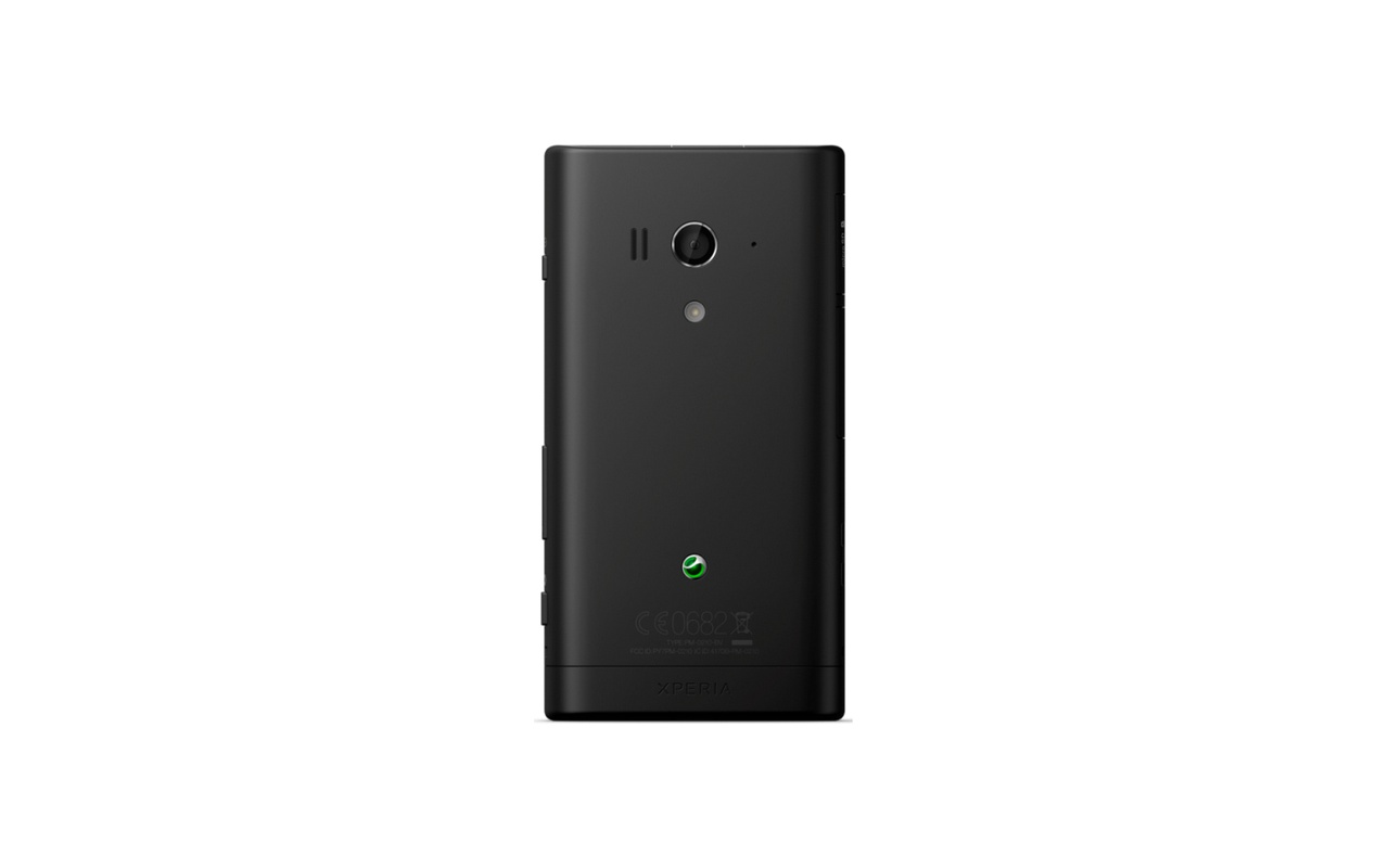 Sony Xperia Acro S Zwart