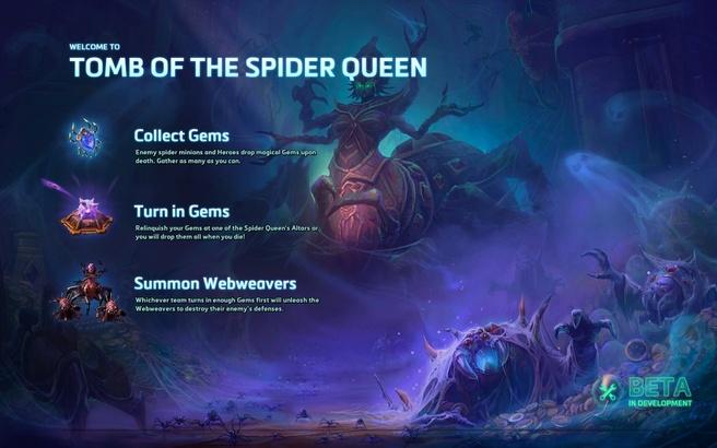 tomb of the spider queen heroes of storm