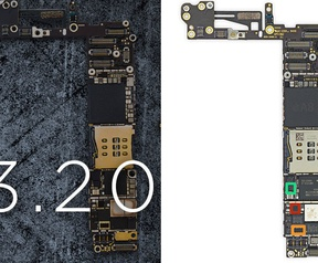HTC-moederbord versus iPhone 6