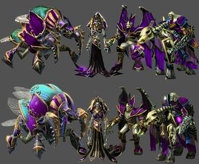Warcraft III-assets voor Starcraft II