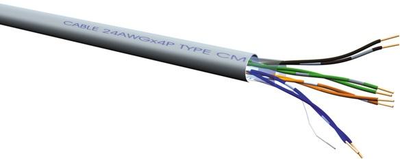 Roline UTP kabel Cat.6 / Class E, massief, AWG 23 300m