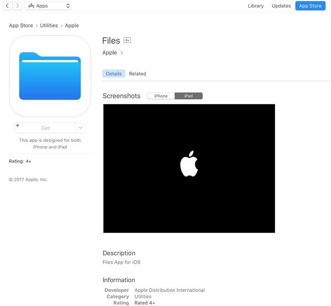 Apple Files App