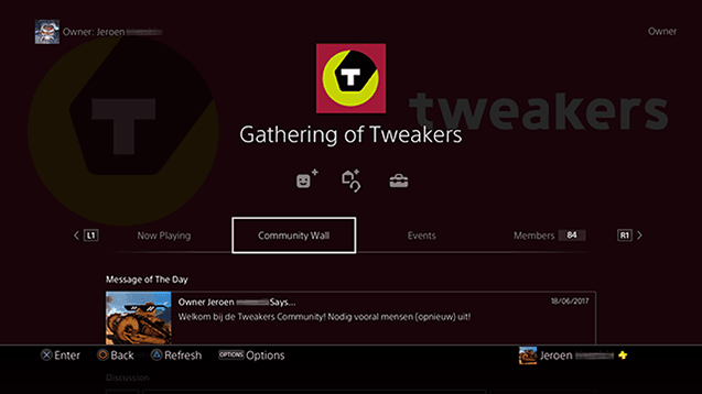 PS4 Community