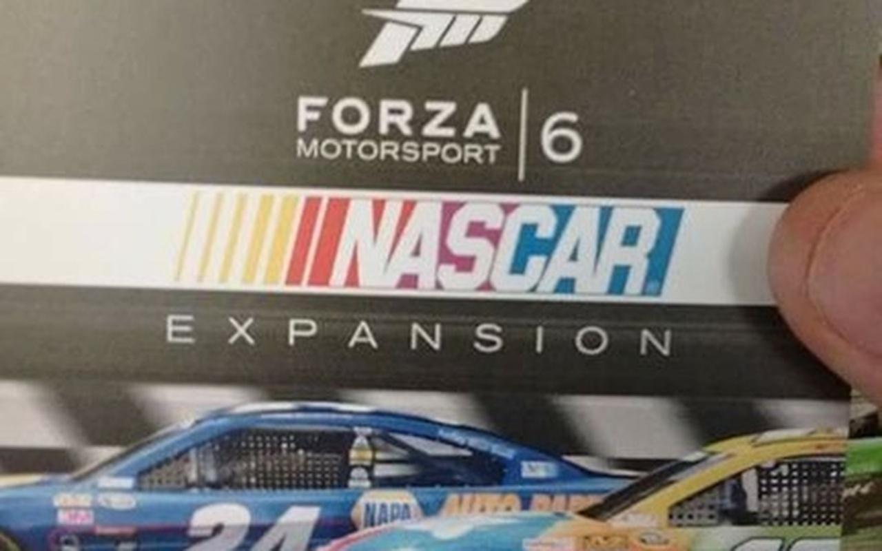 Forza 6 Nascar Expansion