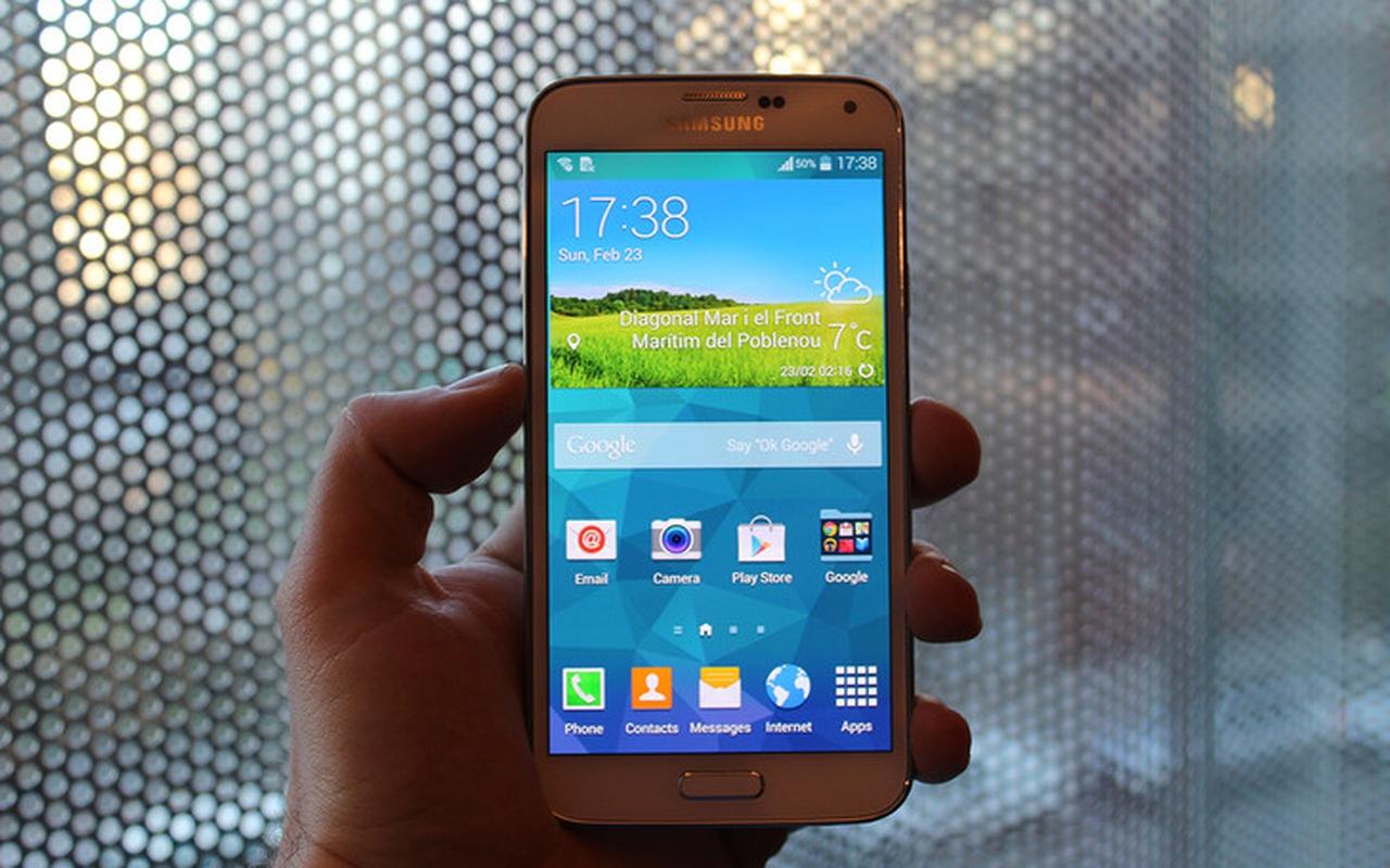 Samsung Galaxy S5 vroegtijdig verschenen foto's 2