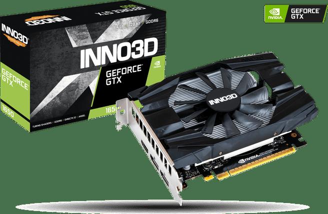 Inno3D INNO3D GeForce GTX 1650 Compaxt X1 4GB GDDR6 grafische kaart