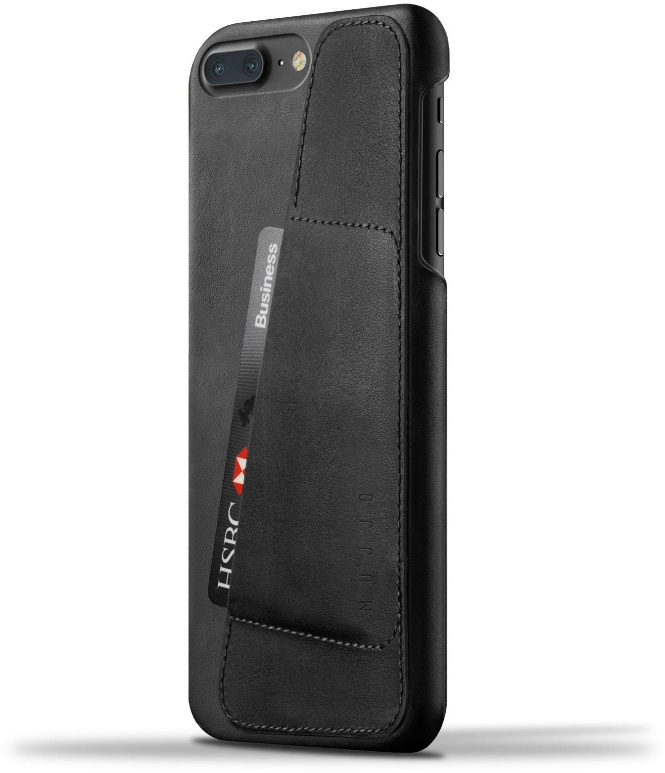 online store 23711 2e8ef Mujjo Lederen Wallet Case Samsung Galaxy S9 Zwart