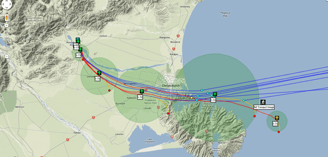 Google Project Loon mission control