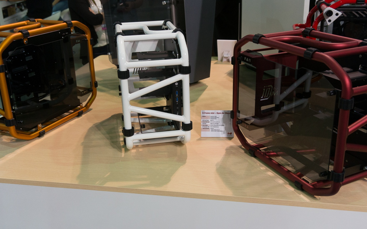 InWin D-frame mini kleurvarianten