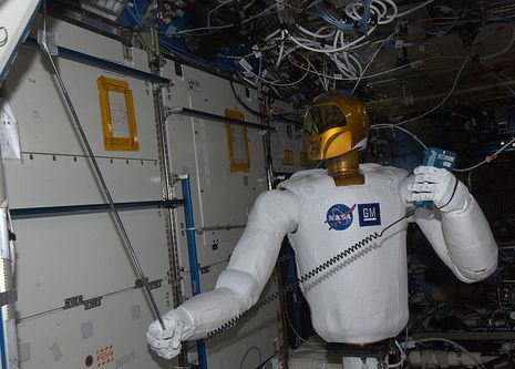 Robonaut R2 ISS meting