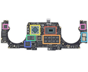 "iFixit-teardown Apple MacBook Pro 16"""