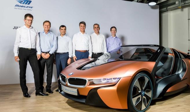 BMW werkt samen met Intel en Mobileye