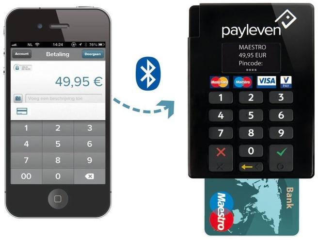 Payleven op iPhone