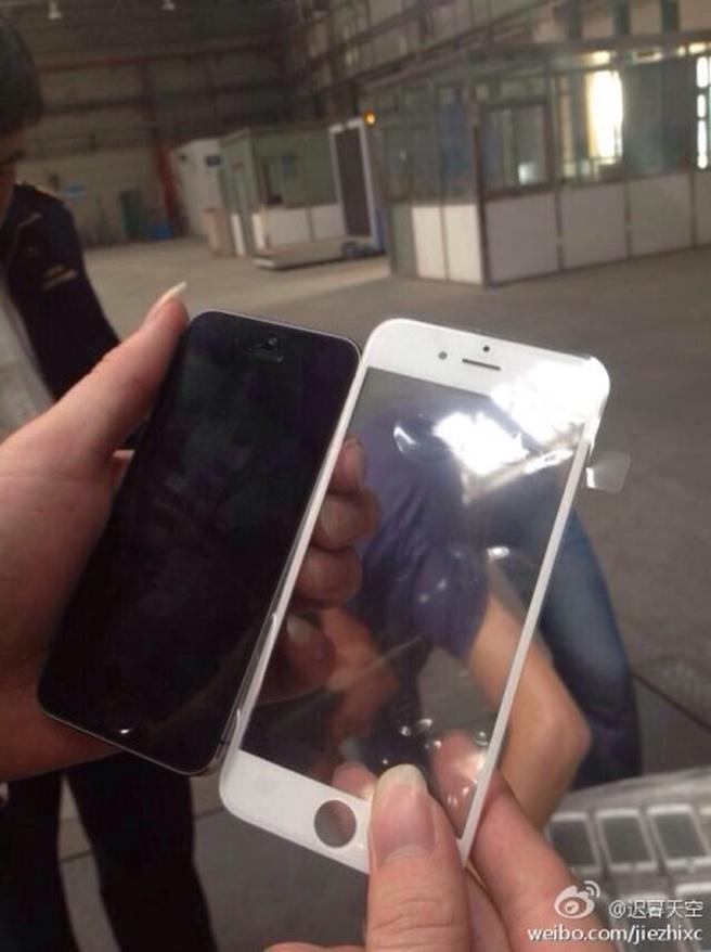 Plaatje vermeende voorkant iPhone 6