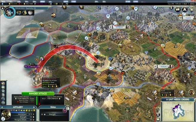 Preview Civilization V