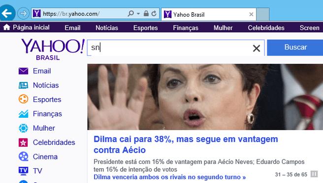 Yahoo Brazilië