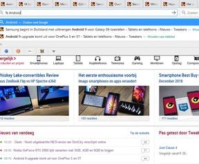 Firefox Search Tabs