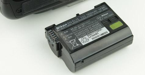 Nikon D7000 accu