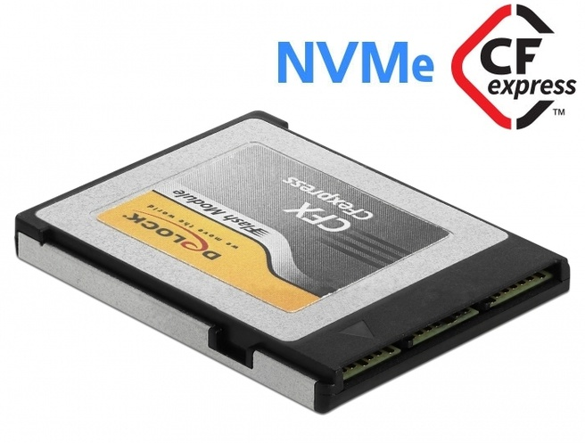 Delock CFexpress memory card 128GB