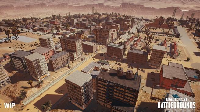 Woestijnlevel voor PUBG