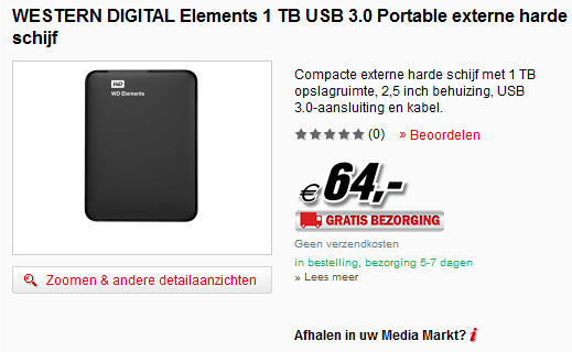 MSH 1Tb Elements