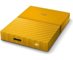 WD My Passport 3TB Geel