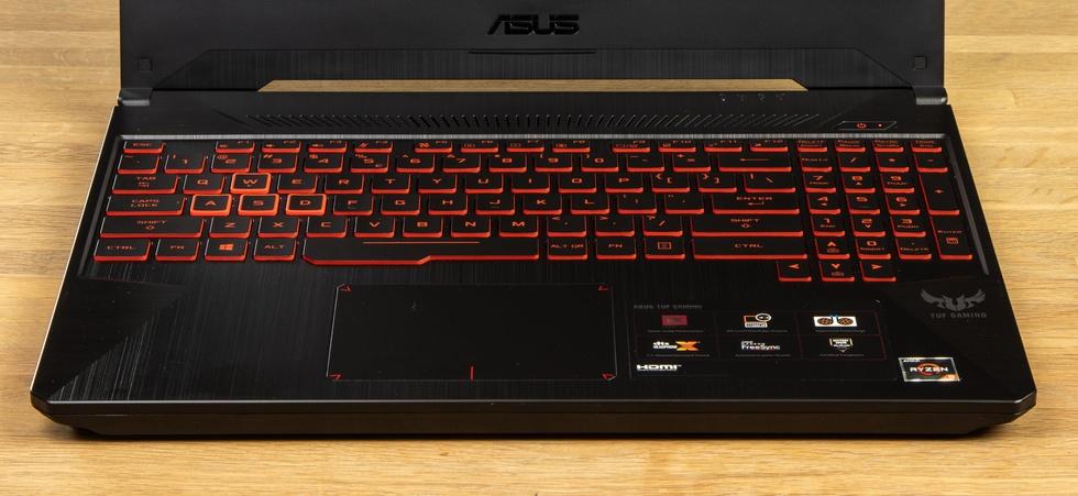Asus FX505-toetsenbord