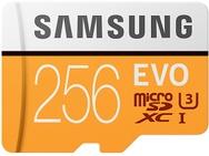 Goedkoopste Samsung MicroSDXC EVO 256GB