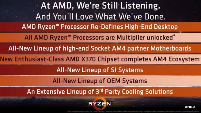 AMD Zen overklokbaar