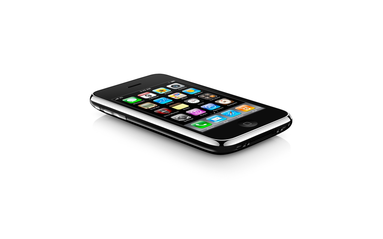 Apple iPhone 3GS Zwart