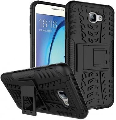 qMust Samsung Galaxy A5 (2017) Rugged Hybrid Case - Dual Protection - Zwart