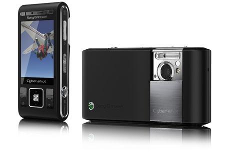 Sony Ericsson C905 Night Black Zwart
