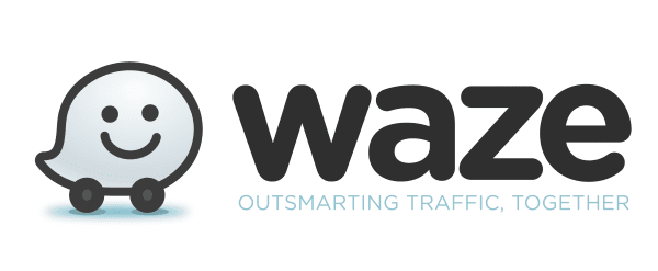 Waze logo breed
