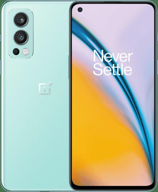OnePlus Nord 2 5G, 8GB ram, 128GB opslag Blauw