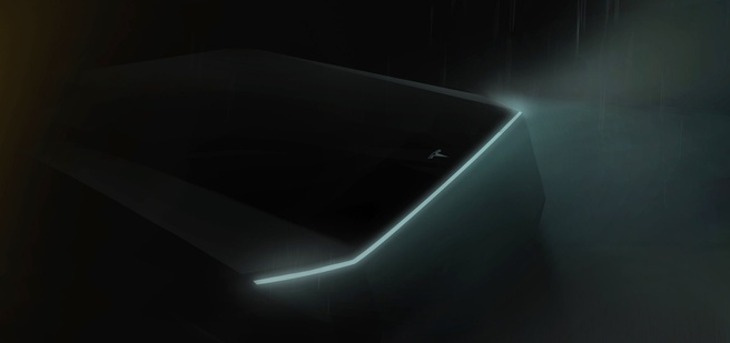 Tesla test pick-uptruck