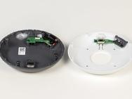 Productfoto's en teardown Google Home Mini en Nest Mini