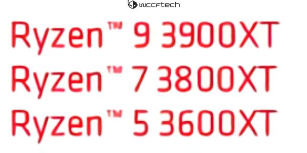 Ryzen 3000XT cpu's