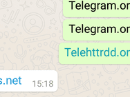 Whatsapp blokkeert Telegram