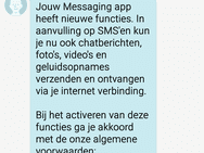 RCS in Berichten-app Vodafone
