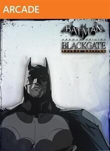 Batman: Arkham Origins Blackgate Deluxe Edition cover, XBLA