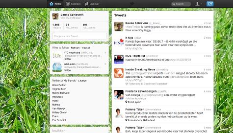 Twitter-redesign december 2011
