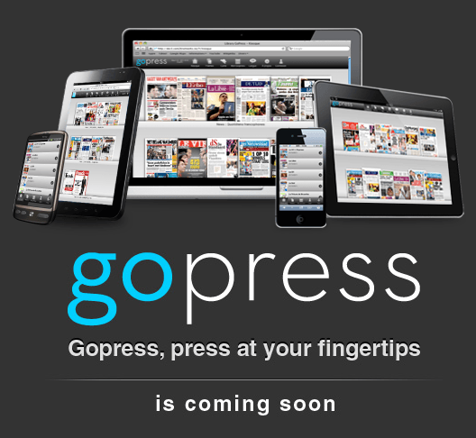 Gopress.be website