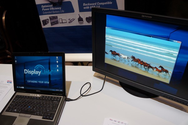Usb laptop monitor DisplayLink