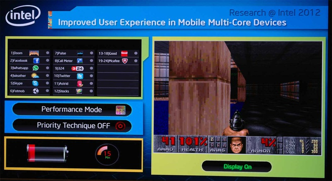 Intel Labs: Doom op een SCC-tablet