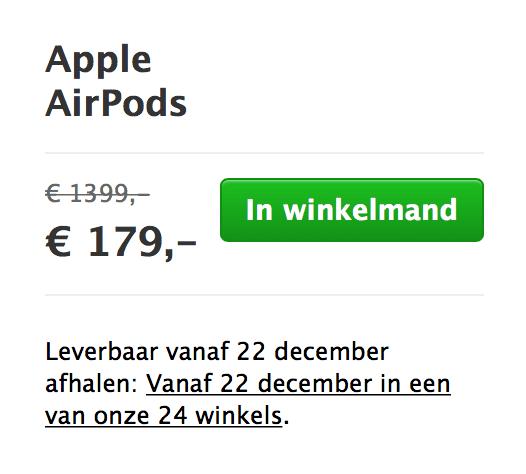 AirPods aanbieding ;)