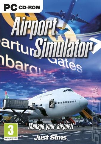 Packshot voor Airport Simulator