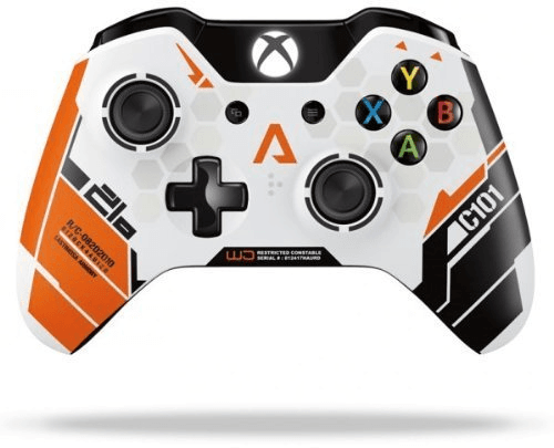 Microsoft Xbox One Wireless Controller Titanfall Limited Edition Wit, Xbox One