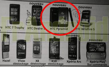 HTC Pyramid bij SFR